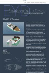 EYD - boat details
