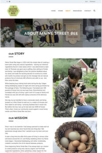 About Maine Street Bee