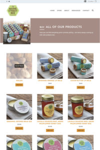 Maine Street Bee online store