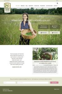 Sarah Buck home page