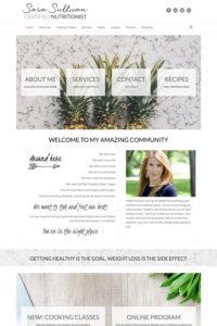 Sara Sullivan home page
