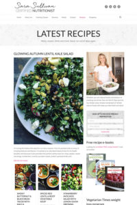 Sara Sullivan recipes and cooking books